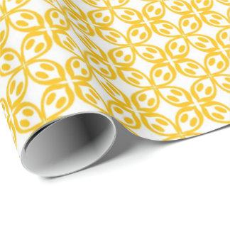Papier Cadeau Copie jaune citron
