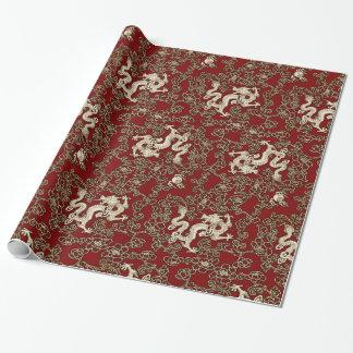Papier Cadeau Copie traditionnelle vintage de papier japonais