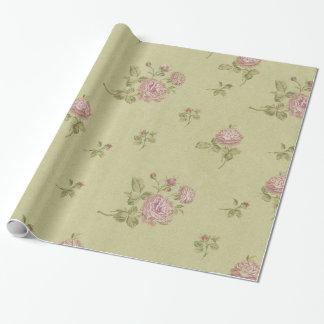 Papier Cadeau Cru floral