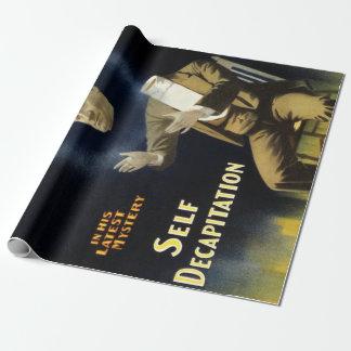 Papier Cadeau Décapitation vintage d'individu de Harry Kellar de
