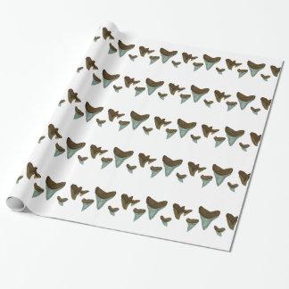 Papier Cadeau Dents de requin