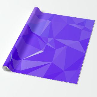Papier Cadeau Dessin géométrique abstrait de LoveGeo - aubergine