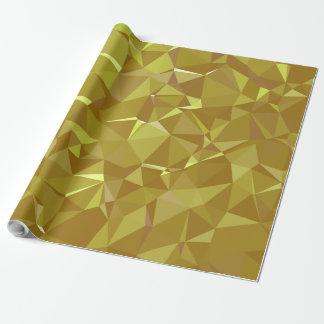 Papier Cadeau Dessin géométrique abstrait de LoveGeo - café doux