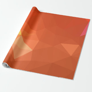 Papier Cadeau Dessin géométrique abstrait de LoveGeo - séquoia