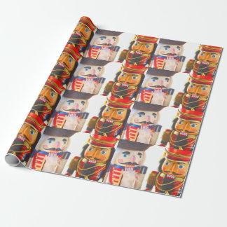 Papier Cadeau Deux casse-noix de Noël