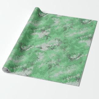 Papier Cadeau Digi vert Camo
