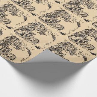 Papier Cadeau dragon