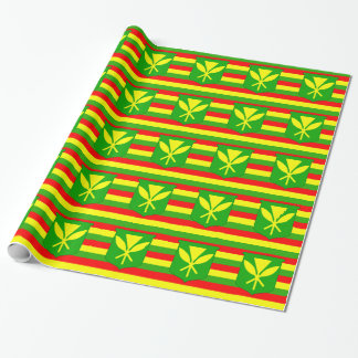 Papier Cadeau Drapeau de Kanaka Maoli