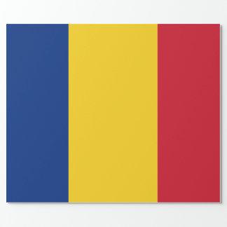 Papier Cadeau Drapeau de la Roumanie