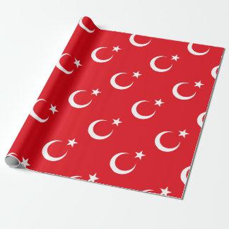 Papier Cadeau Drapeau de la Turquie