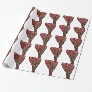Papier Cadeau Écarlate rouge