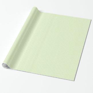 Papier Cadeau Effet en spirale de motif de style de Fermat. Vert