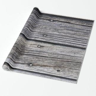 Papier Cadeau Effet secondaire de grange grise de Temps-conseil