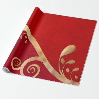 Papier Cadeau Élégance de Valentine TOUTES LES TAILLES