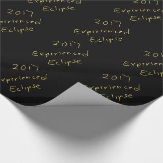 Papier Cadeau Enveloppe de 2017 éclipses il papier