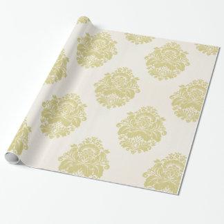 Papier Cadeau Enveloppe de cadeau chique vintage de motif