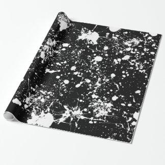 Papier Cadeau Enveloppe de cadeau d'art d'éclaboussure