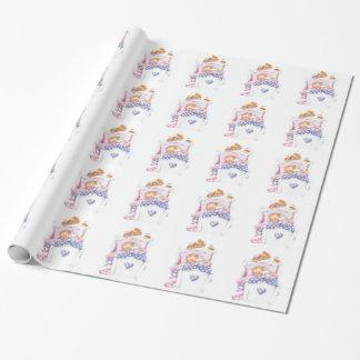 Papier Cadeau Enveloppe de cadeau de baby shower de concepteur