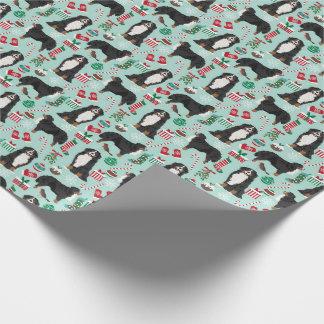 Papier Cadeau Enveloppe de cadeau de chien de montagne de