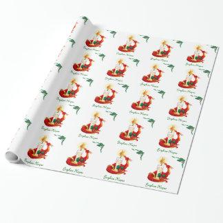 Papier Cadeau Enveloppe de cadeau de dragon d'éclairage de