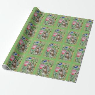 Papier Cadeau Enveloppe de cadeau de papier d'emballage de