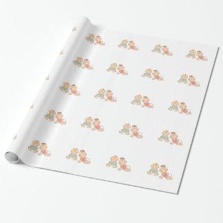 Papier Cadeau Enveloppe de cadeau de papier d'emballage de baby