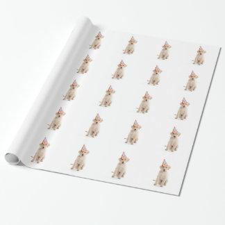 Papier Cadeau Enveloppe de cadeau de papier d'emballage de chien