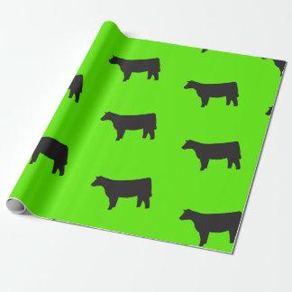 Papier Cadeau Enveloppe de cadeau de vache
