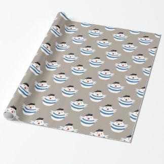 Papier Cadeau Enveloppe de cadeau française mignonne
