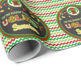 Papier Cadeau Enveloppe de cadeau laide de fête de vacances de