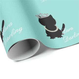 Papier Cadeau Enveloppe de cadeau personnalisée par chat de