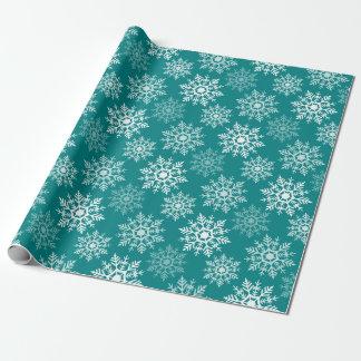 Papier Cadeau Étoiles de neige - Holidayz - papier d'emballage