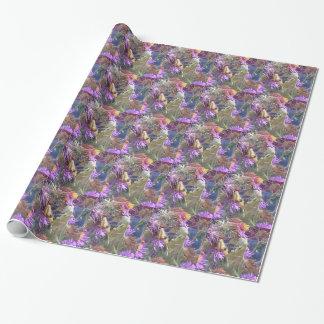 Papier Cadeau Exploration de scarabées de Milkweed en masse