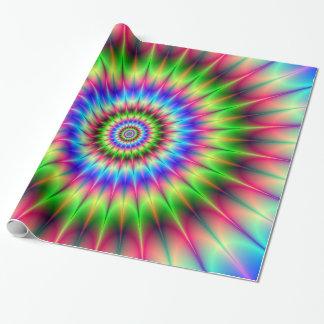 Papier Cadeau Explosion en épi de couleur