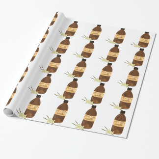 Papier Cadeau Extrait de vanille