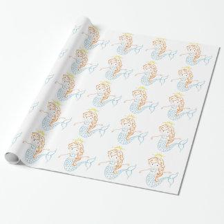 Papier Cadeau Fée de sirène