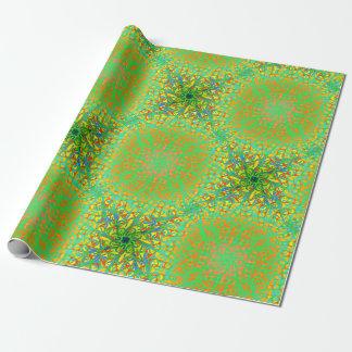 Papier Cadeau Fiesta Chartreuse de Winston