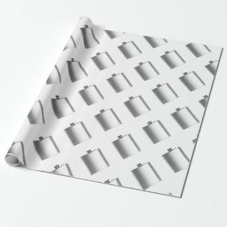 Papier Cadeau Flacon de hanche d'acier inoxydable