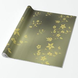 Papier Cadeau Fleurs asiatiques sensibles