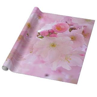 Papier Cadeau Fleurs de cerisier, japonaises