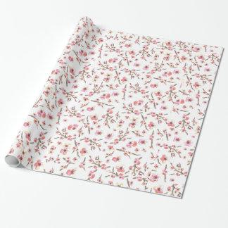 Papier Cadeau Fleurs de fleurs de cerisier