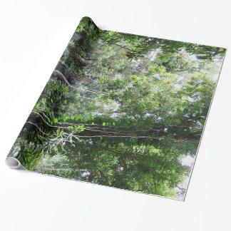Papier Cadeau Forêt tropicale hawaïenne