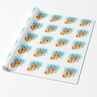 Papier Cadeau foxyfoxiness