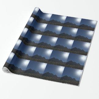 Papier Cadeau Gamme de montagne de nanovolt