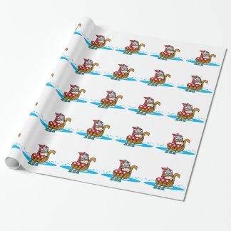 Papier Cadeau Garçon de Viking