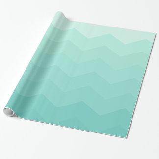 Papier Cadeau Gemme bleue de hippie