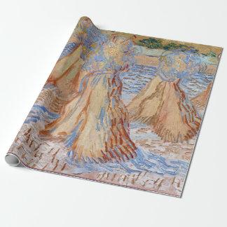 Papier Cadeau Gerbes de Vincent van Gogh de blé