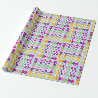 Papier Cadeau Giftwrap coloré d'étamine