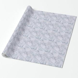 Papier Cadeau Grain en pierre de marbre blanc/texture