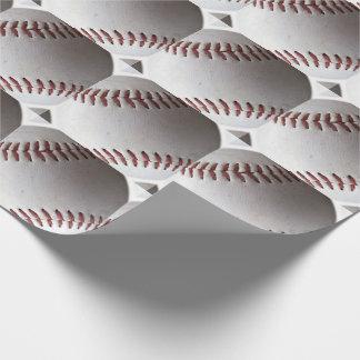 Papier Cadeau Grand motif de base-ball